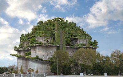 Die Zukunft urbaner Landschaften – Dach- und Fassadenbegrünung auf dem Bunker St. Pauli